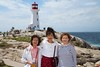 Rosa, her mother, and my mom at Peggy's Cove.<br /> IMG_8825