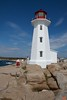 The iconic Peggys Point Lighthouse was built in 1914.<br /> IMG_8845