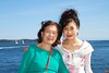 Rosa and her mother at Point Pleasant Park.<br /> IMG_8824