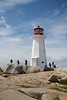 The iconic Peggys Point Lighthouse was built in 1914.<br /> IMG_8837