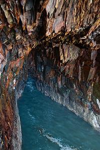 Sea Cave, Ovens Natural Area