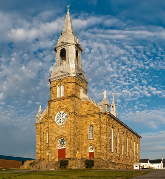Church in Cheticamp, Cape Breton Island
