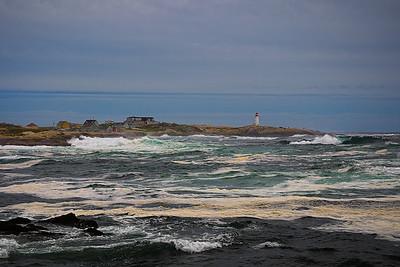Hurricane Katya churns up Peggy's Cove