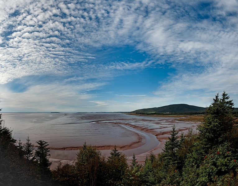 Bay of Fundy, Hopewell Rocks, New Brunswick