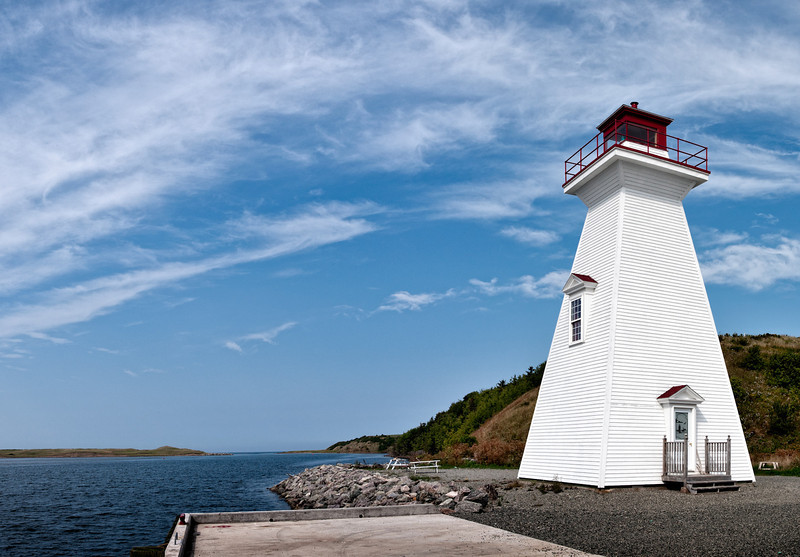 Mabou lighthouse, Cape Breton Island