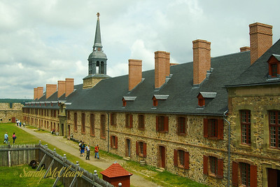 The Bastion at the Fortress of Louisbourg.