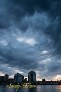 Clouds over Halifax.