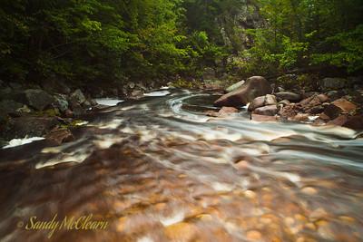 Maryanne Falls near Ingonish, Cape Breton.