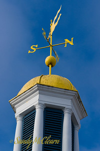 A wind vane on the Halifax Waterfront.