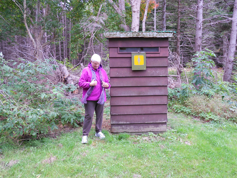 Restroom on the Cabot Trail