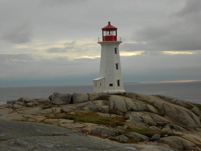 Peggy' Cove light house.