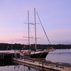 Amoeba Sailing tour ship Beddeck Nova Scotia   Sunrise