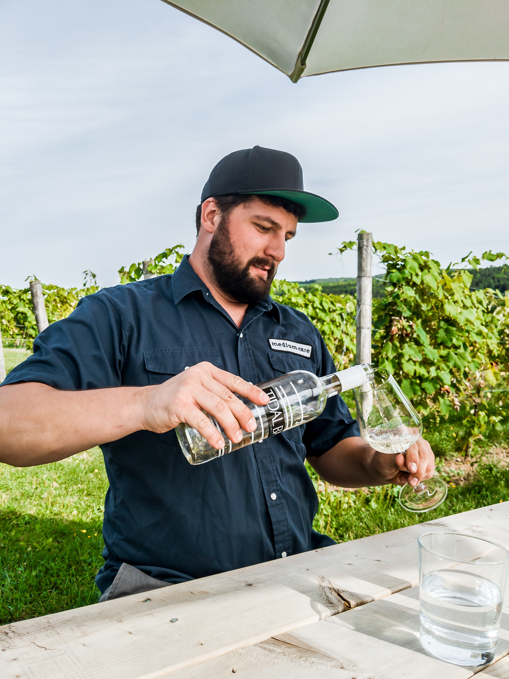 Winemaker Alex Morozov of Benjamin Bridge
