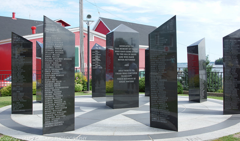 """Lunenburg, Nova Scotia """"In memory of those who have gone down to the sea in ships and who have never returned and as a tribute to those who continue to occupy their business in the great waters"""""""