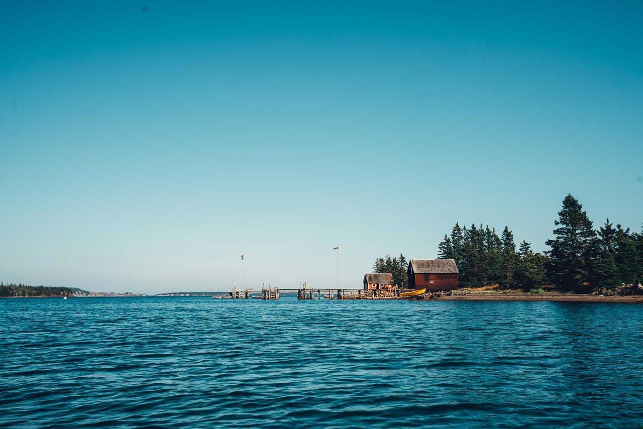 Kayaking Lahave Island