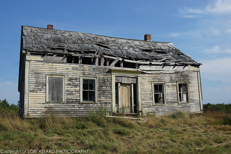 Abandoned farm house, Nova Scotia