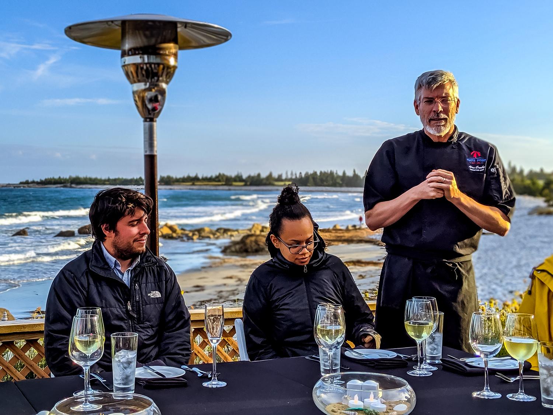 Stellar beach feast at White Point Beach Resort