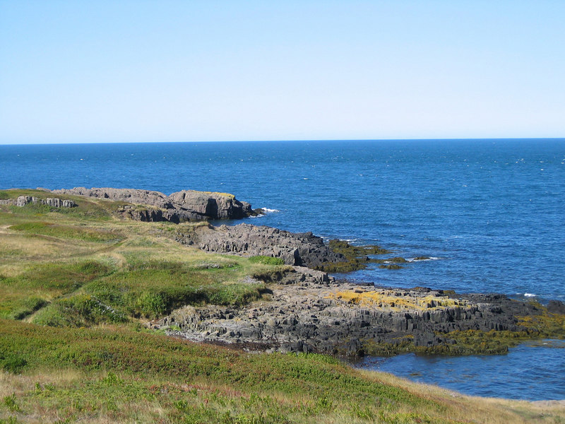 Rocks on Brier Island, Nova Scotia