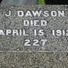 """Joseph Dawson who was renamed Jack Dawson in the movie """"Titanic""""."""