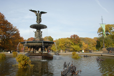 The Angel at Central Park