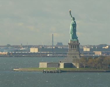 Statue of Liberty - View from the hotel