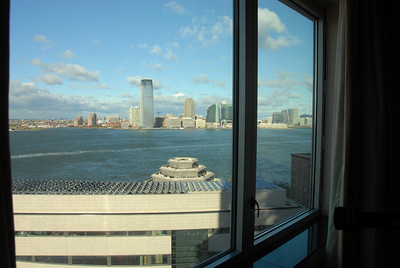 View from the 12th floor of the Ritz Carlton hotel