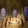 Inside a church at Arles