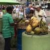Slicing Coconuts