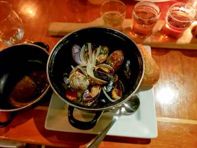 So much shellfish in one little weekend