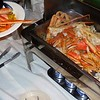 Alaskan crab legs-I pass on this-but some people are out of control here !