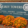 Milford, Pennsylvania. The Grey Towers home, is a historic landmark and is truly beautiful, on top of the mountain, as you will see. The town itself, is full of antique stores, Historic Bed & Breakfasts and less than two hours from New York City AND my parents home in Connecticut.  My car has magnetic pull--always stop here for coffee or lunch. This day was perfect for a REST stop, since I was one hour ahead of schedule to arrive by my parents' around dinner time.