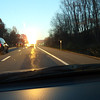"""""""Blinded by the light""""  The back end of this semi, just before Taconic Parkway--Kodak moment."""