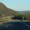 Starting decent on I 84 towards Hudson River and then North, on the famous Taconic Parkway and soon in Connnecticut.