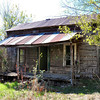 Abandoned home at Kosoma, an Oklahoma ghost town on HWY 2.
