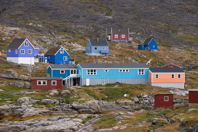 Town of Itilleq, Greenland