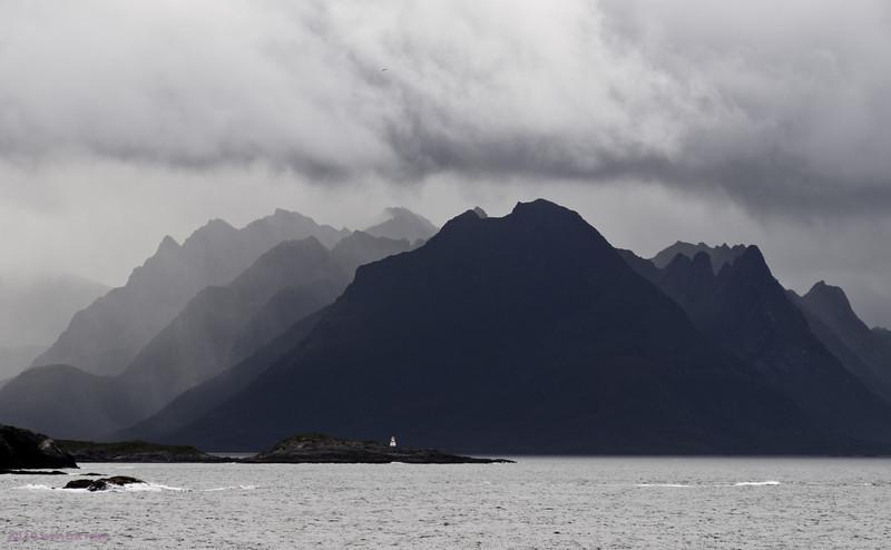 Wiew towards Skogsøya