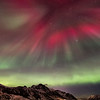 Northern light corona over Nyksund I