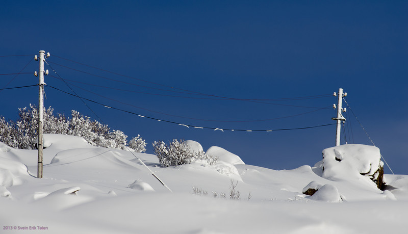 Line of civilization<br /> Electricity line to Nyksund