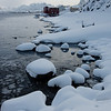 Snow and high tide IV<br /> Nyksund