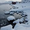 Snow and high tide IV<br /> Nyksund