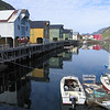 Gables - the harbour with two-storey docks