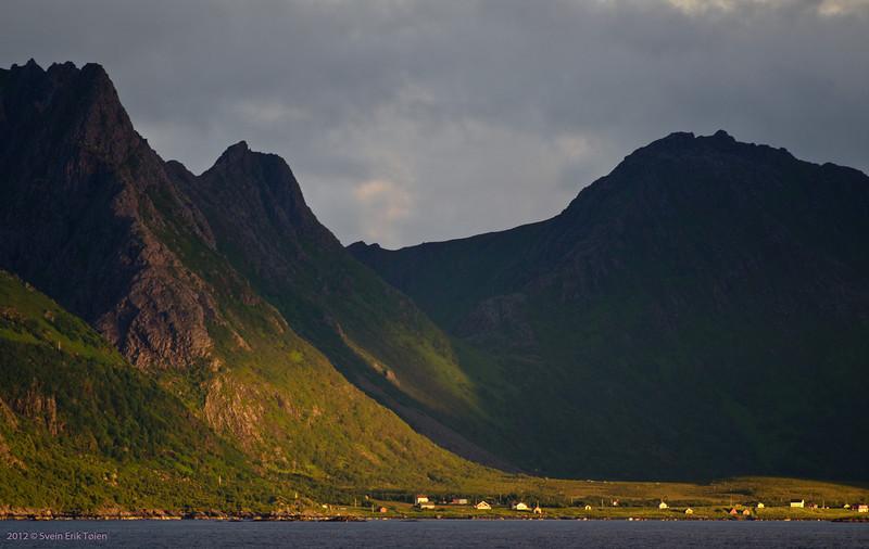 Wiew towards Nordsand, Skogsøya