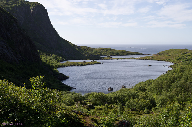 The Nyksund lakes, water reservoir for Nyksund
