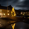 Christmas tree in Nyksund square III