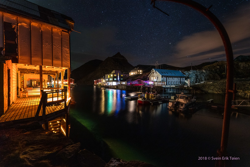 Lighted Harbour