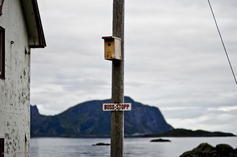 Bus stop and house, Skåltofta<br /> (But no bus )