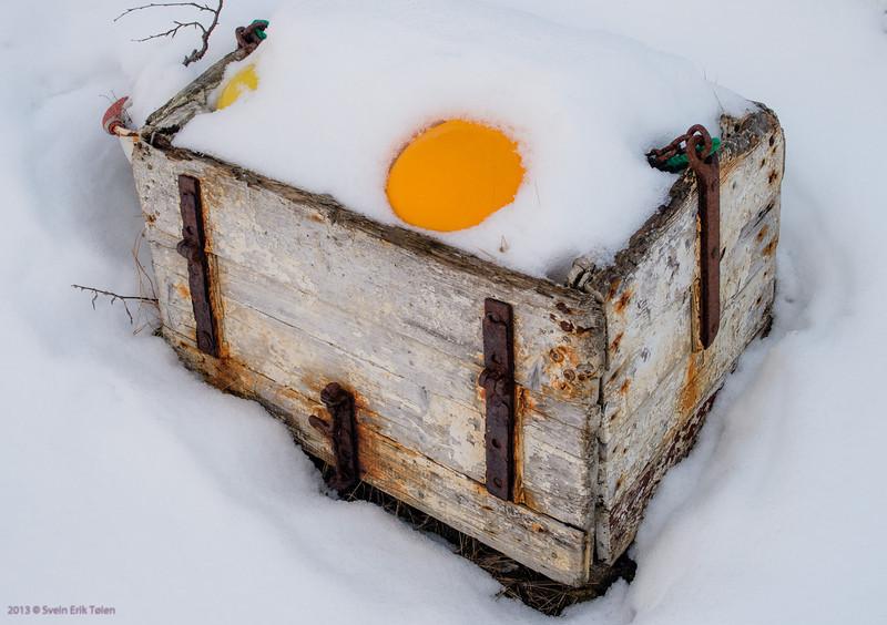 White in february<br /> Nyksund