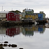 Town in the ocean