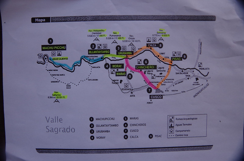 The Sacred Valley<br /> Cusco, Peru<br /> Elevation: 11,152