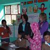 Urubamba school visit.
